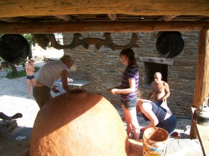 Clay Oven finishing