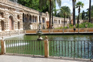 Water featuring all areas of the palace gardens
