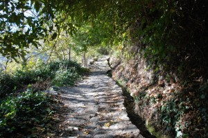 The Roman sendero connecting Bubion to Pamaniera